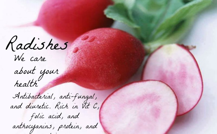 Dig in to the radish