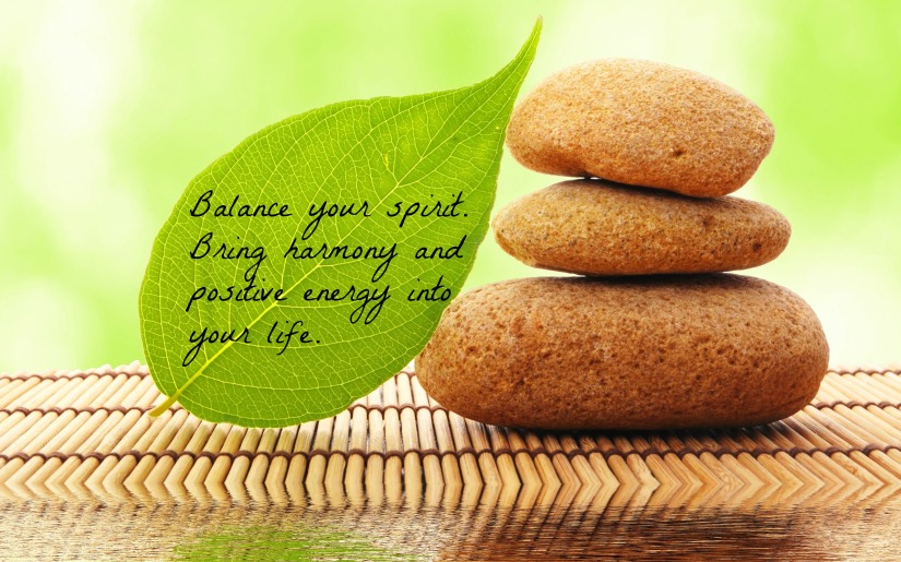 Balance your spirit. Bring harmony and positive energy into your life.