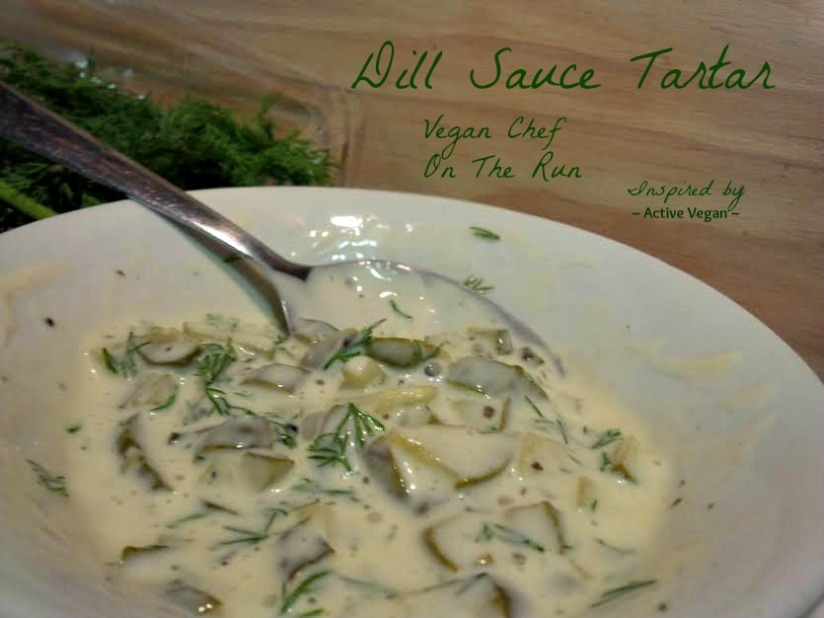 How to make mayonnaise and dill sauce tartar – all vegan