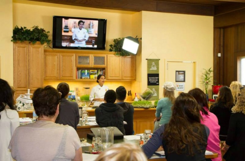 Living Light Culinary Institute –  California, U.S.A – Raw Vegan