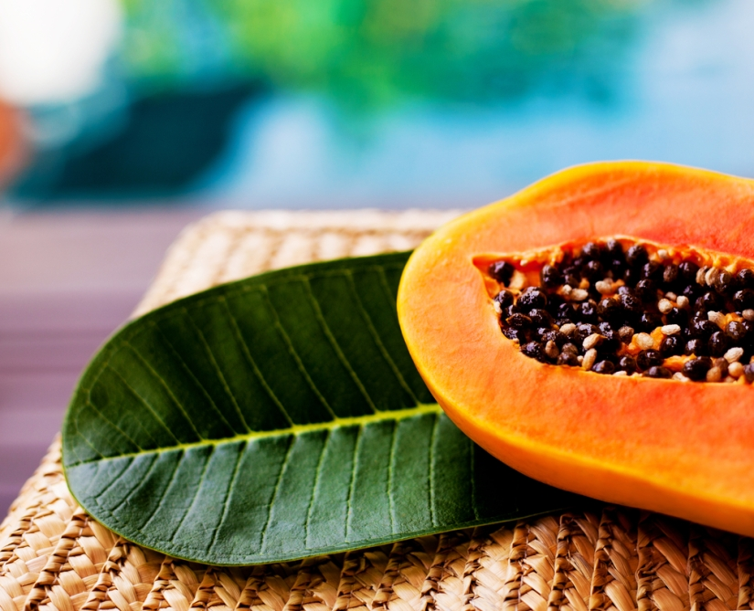 Expel unwanted parasites from our body with papaya seeds – all vegan