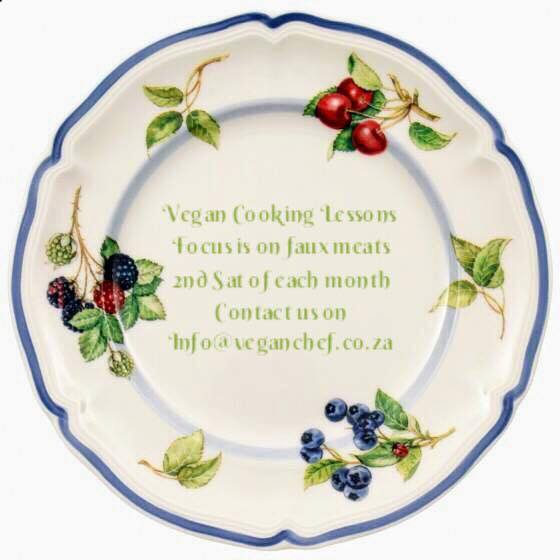 Vegan Cooking Classes With Focus On Faux Meats Now InGauteng!