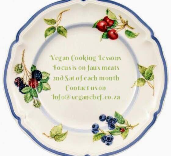 Vegan Cooking Classes With Focus On Faux Meats Now In Gauteng!